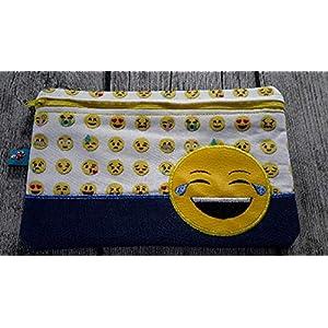 E-Book Tasche, Mäppchen, Kosmetiktasche, Smiley/Emotie