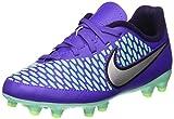 Nike Jr Magista Onda FG, Zapatillas de Deporte para Niñas, Morado/Plateado (Hypr Grp/Mtllc Slvr-Prpl Dynst), 28 EU