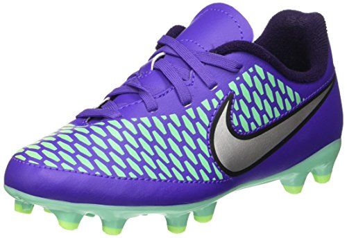 Nike Jr Magista Onda Fg, équipement de football mixte adulte Multicolore (Hypr Grp/Mtllc Slvr-Prpl Dynst)