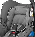 Maxi-Cosi Citi Babyschale (in Kombination mit allen Maxi-Cosi und Quinny-Kinderwagen und Buggys flexibel einsetzbar, Leichtgewicht und für das Flugzeug zugelassen, Gruppe 0+, bis 13 kg) concrete grey -