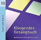 Klingendes Gesangbuch 10 - Lasst uns feiern: Kirchenlieder zum Mitsingen - Für Kinder- und Jugendgottendienste