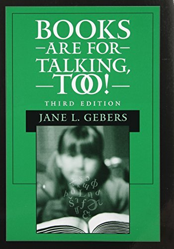 Books Are for Talking, Too! by Jane L. Gebers (2002-11-30)