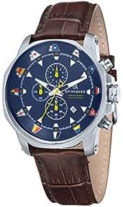 Spinnaker Horloge à quartz FLAGGY Marron 45MM