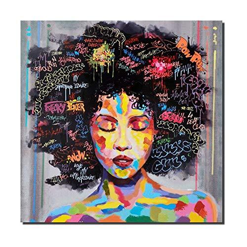Cuadro abstracto estilo graffiti Hip hop lienzo impresiones