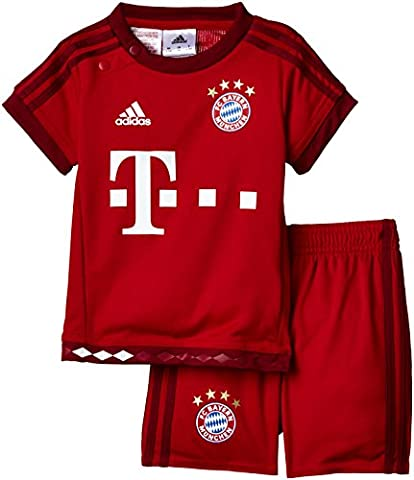 adidas Baby Mini-heimausrüstung FC Bayern München, True Red/Craft Red, 74, S08808 (Fc Bayern München Trikot 2015)