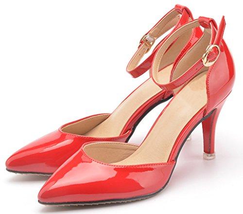 CAMSSOO - Eleganti donna Rosso