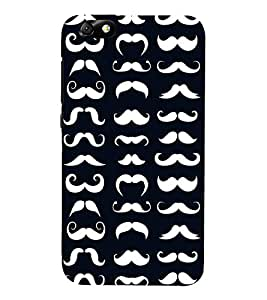Fiobs mustache man royal different sizes unique compitative Designer Back Case Cover for Huawei Honor 4X