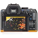 3 x atFoliX Protecteur d'écran Ricoh Pentax K-S2 Film Protection d'écran - FX-Antireflex anti-reflet