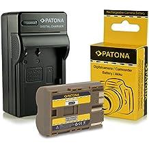 PATONA Cargador + Batería BP-511 para Canon Powershot G1 G2 G3 G5 G6 Pro 90 IS Pro 1 Canon EOS D10 D20 20Da D30 D40 D60 300D 5D 10D 20D 30D 40D 50D Digital Rebel Canon MV30 MV30i MV100Xi MV300