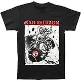 BAD RELIGION Bomb Rider Unisex T-Shirt Offizielles Lizenzprodukt|schwarz-S