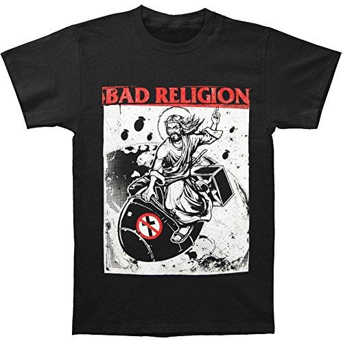 BAD RELIGION Bomb Rider Unisex T-Shirt Offizielles Lizenzprodukt|schwarz-XL