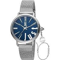 Just Cavalli Women's Quartz Watch, Analog Display and Stainless Steel Strap JC1L119M0055