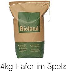 Bio Futterhafer 4kg - PREMIUMQUALITÄT - direkt vom Bauernhof - aus kontrolliert biologischem Anbau