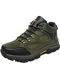 XI-GUA , Scarpe da camminata ed escursionismo uomo, Marrone (marrone), 40