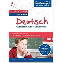XXL-Lernbuch Deutsch 5./6. Klasse: Gute Noten mit der Schülerhilfe