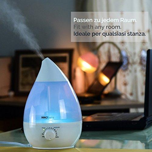 InnoBeta® 2,4 Liter Ultraschall-Luftbefeuchter Cool Mist - 5