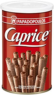 Caprice Wafer Rolls with Hazelnut and Cocoa Cream, 115g