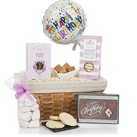 Alles Gute zum Geburtstag... Geburtstags-Präsentkörbe, Geschenkkörbe für Feiern und Geburtstagsgeschenke