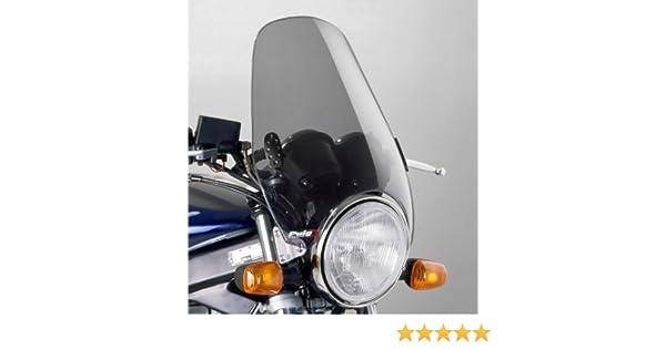 Pare Brise Puig Custom II fum/é clair pour Harley Davidson Sportster 1200 XLH-1200 07-09 XL 1200 L Sportster 1200 Low 96-12 88-99 XL 1200 C Sportster 1200 Custom