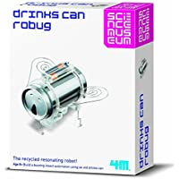 Price comparsion for Create Your Own Soda Can Robug - Science Experiment Set - Number One Educational - Educational Science Present Gift Ideal For Christmas Xmas Stocking Fillers Age 8+ Girls Boys Kids Children