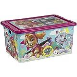 ColorBaby - Caja ordenación, Skye & Everest, Paw Patrol, 35 litros, 50 x 36 x 25 cm (76767)