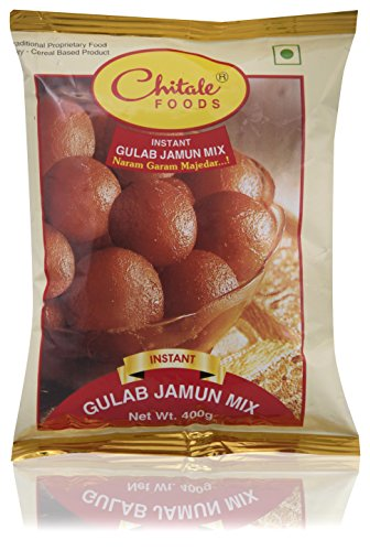 Chitale Bandhu Mithaiwale Instant Gulab Jamun Mix, 400 grams (Pack of 2)