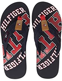 Tommy Hilfiger Essential Th Beach Sandal, Tongs Homme, Bleu Nuit, 40 EU