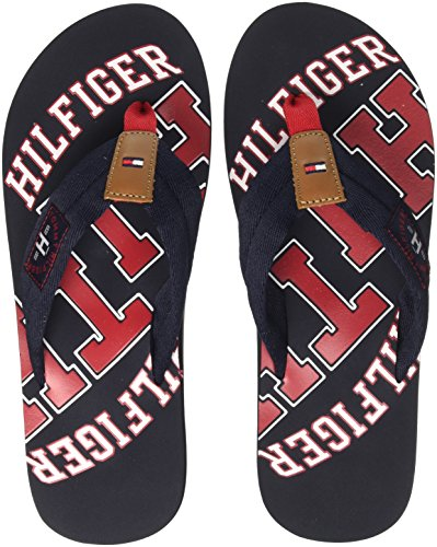 4470c631799f6c Tommy Hilfiger Herren Essential TH Beach Sandal Zehentrenner