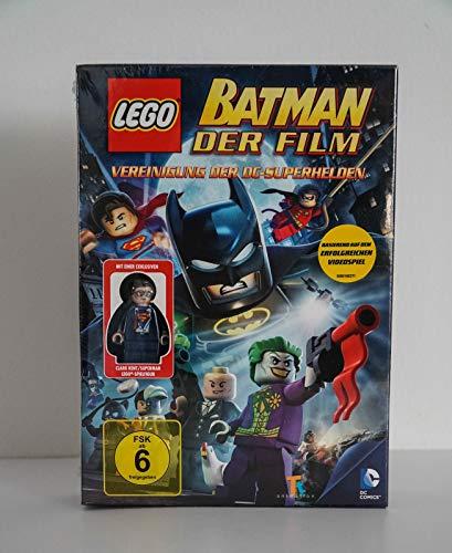 Lego Batman der Film - Vereinigung der Superhelden, mit einer exklusiven Clark Kent/Superman Lego-Spielfigur (Clark Superman Kent)