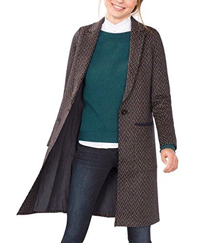 ESPRIT Damen Jacke 106EE1G021, Mehrfarbig (Navy 400), 38 (Herstellergröße: M)