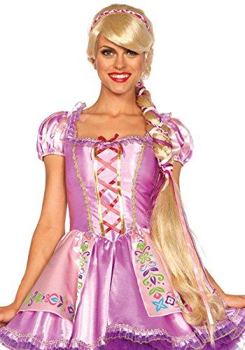 Leg Avenue A2674 - Rapunzel Perücke - Einheitsgröße, Blonde