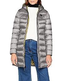 Blauer USA Damen Mantel Impermeabile/Trench Lunghi Imbottito Piuma