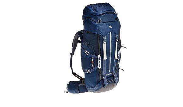734a31dc11 decathlon Quechua Symbium 70 + 10L Multiday trekking zaino blu scuro:  Amazon.it: Sport e tempo libero
