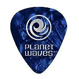 Planet Waves Médiators Planet Waves bleus, pack de 25, Medium