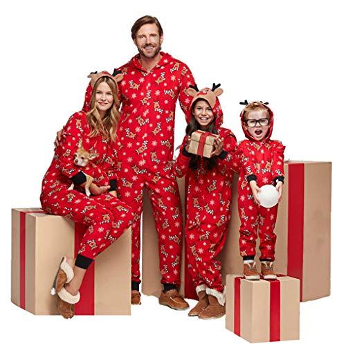 Memoryee Unisex Familie Onesies Kapuzenpyjama - Baumwollkostüm Tierelchkostüm Idee Homewear Nachtwäsche Overall Kostüm Familie Child 7T (Baby Pille Kostüm)