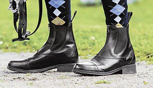 MOUNTAIN HORSE Reitstiefelette PRISMA PADDOCK (mit Reißverschluß vorne) braun