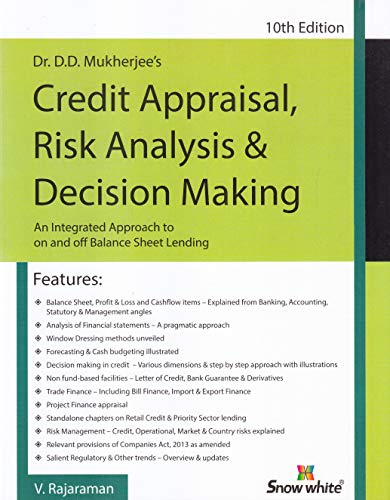 Credit Appraisal Risk Analysis & Decision Making 10th Edition
