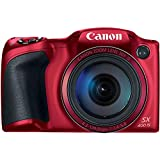 (CERTIFIED REFURBISHED) Canon PowerShot SX400 Digital Camera with 30x Optical Zoom (Red)