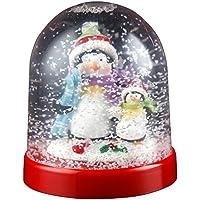 Penguin Snowglobe Christmas Ornament