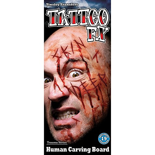 Tinsley Transfers Tattoo FX HUMAN CARVING BOARD (Carving Board)
