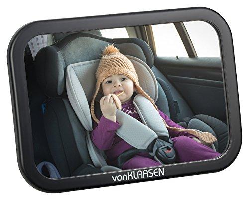 Baby Auto Spiegel – Premium Rücksitzspiegel: Bruchsicherer Babyspiegel für die Sicherheit Ihrer Familie – Rückspiegel I Autospiegel