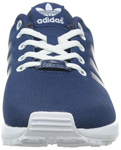 adidas Zx Flux, Baskets Basses Mixte Enfant Bleu (Oxford Blue St/Fade Ink St/Ftwr White)