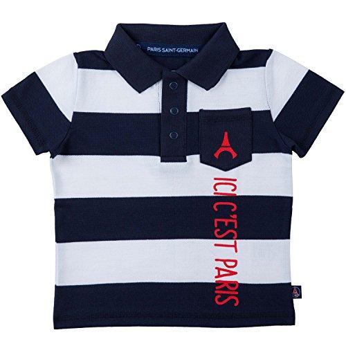 6abba861a47a7d PARIS SAINT GERMAIN Polo bébé garçon PSG - Collection Officielle 6 Mois
