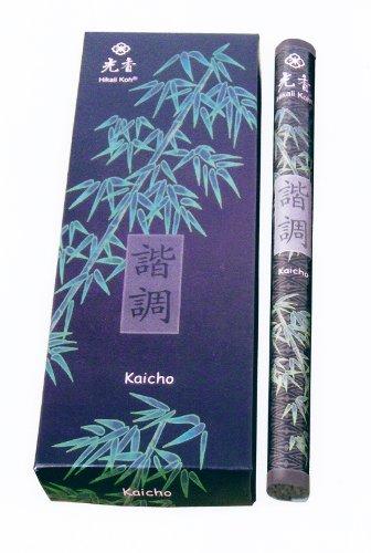 KAICHO - Harmonie - Marke: HikaliKoh - Rolle mit ca.22 Räucherstäbchen 22cm (Marke Harmonie)