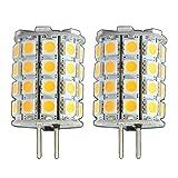 2 x Stück - G6.35/GY6.35 LED 6 Watt tageslichtweiß kaltweiß ~35W Halogen 12V AC/DC Lampe