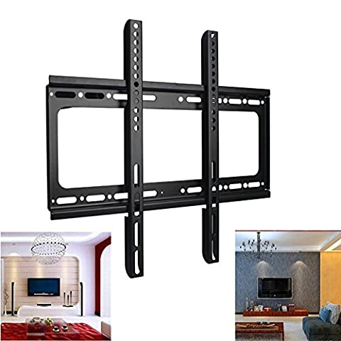Safekom Flat/Fixed 3D TV Wall Bracket Mount Holder Stand For Television Monitor Screen LCD LED Plasma 26