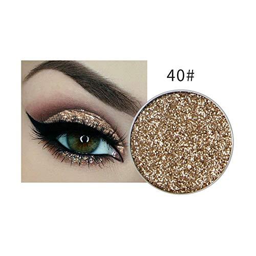Lidschatten NICEFACE 1 Stück 8 Farben Glitter Shadow Powder Eyeshadow Eye -