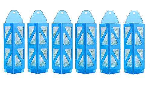 Pièges pour mites alimentaires demi-losanges avec phéromones de Pest Expert (6 x piège, 30 x blocs / plaquettes de pheromones)