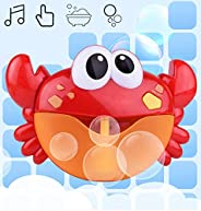 Bubbler Machine for Kids Baby Cute Frog Bath Bubble Maker Different Music Sounds Easy to Use and Install