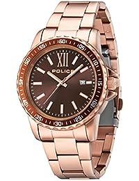 Police 14494JSR/12M - Reloj , correa de acero inoxidable color oro rosa